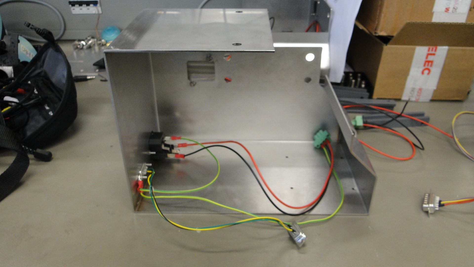 Projektarbeit Displaytestadapter – Ausbildung bei Endress+Hauser